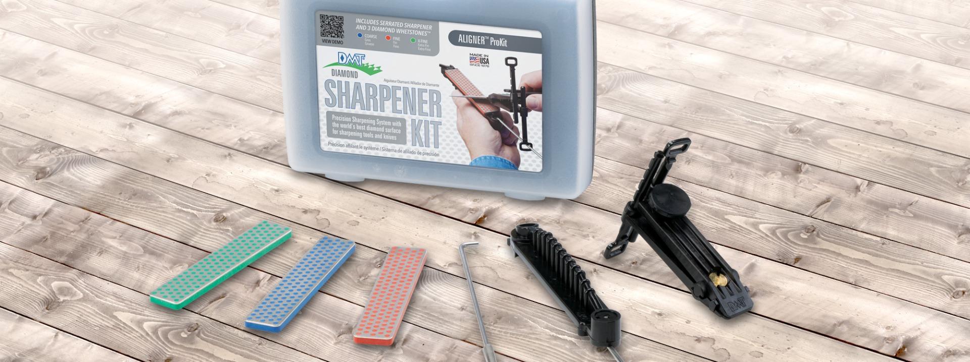 Aligner™ Easy Edge-Guided Knife Sharpening Kit