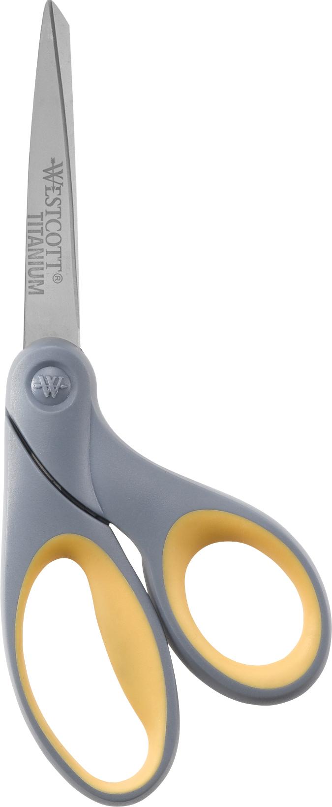 """Westcott Titanium Bonded Scissors, 8"""" Bent (13731)"""