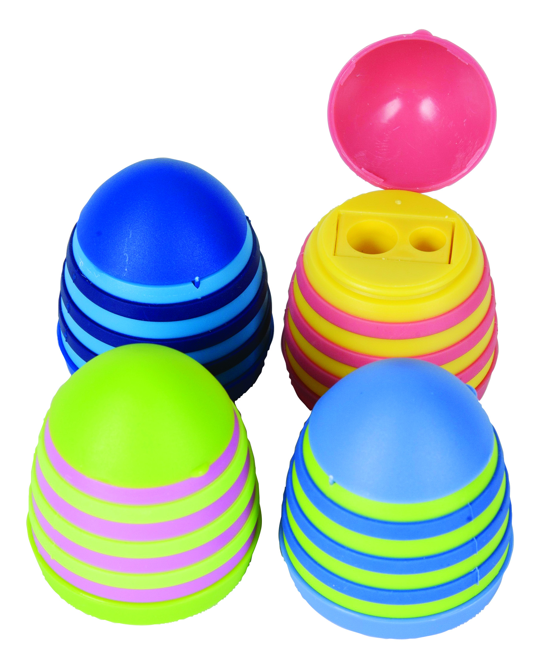 Westcott Novelty Two Hole Behive Pencil Shaperner, Assorted Colors (15241)
