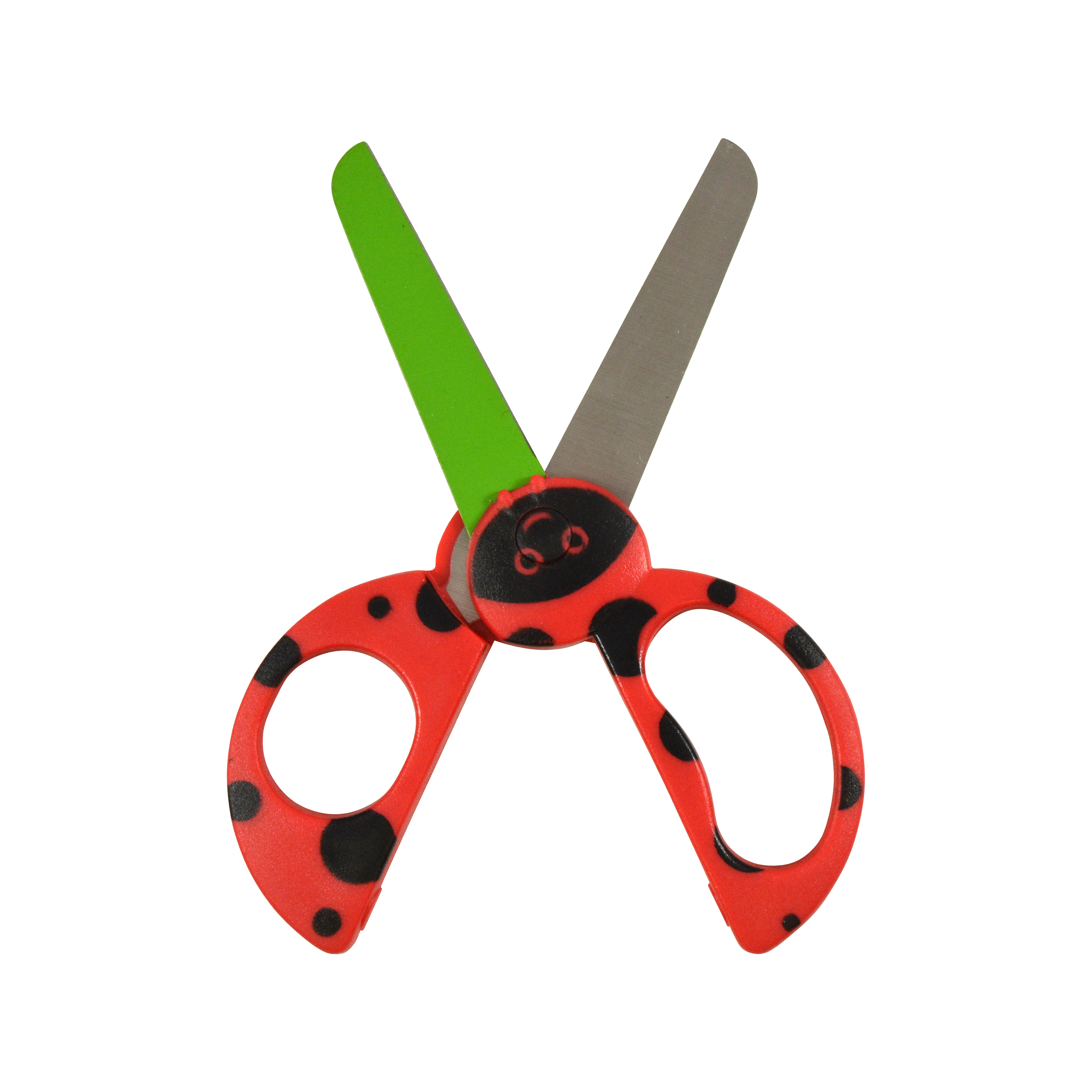 "Westcott Kids 5"" Critters Scissors, Lady Bug (16207)"