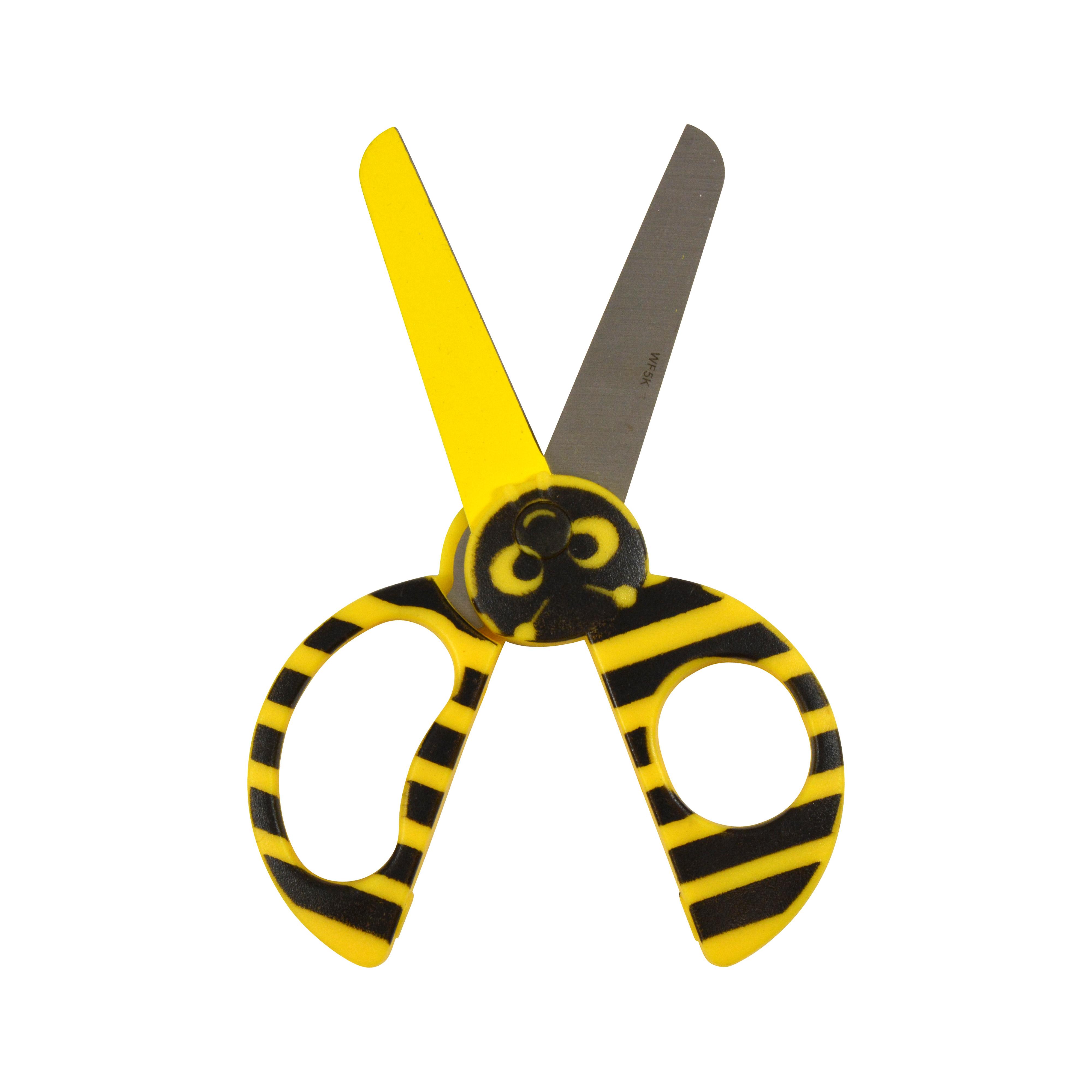"Westcott Kids 5"" Critters Scissors, Bumble Bee (16208)"