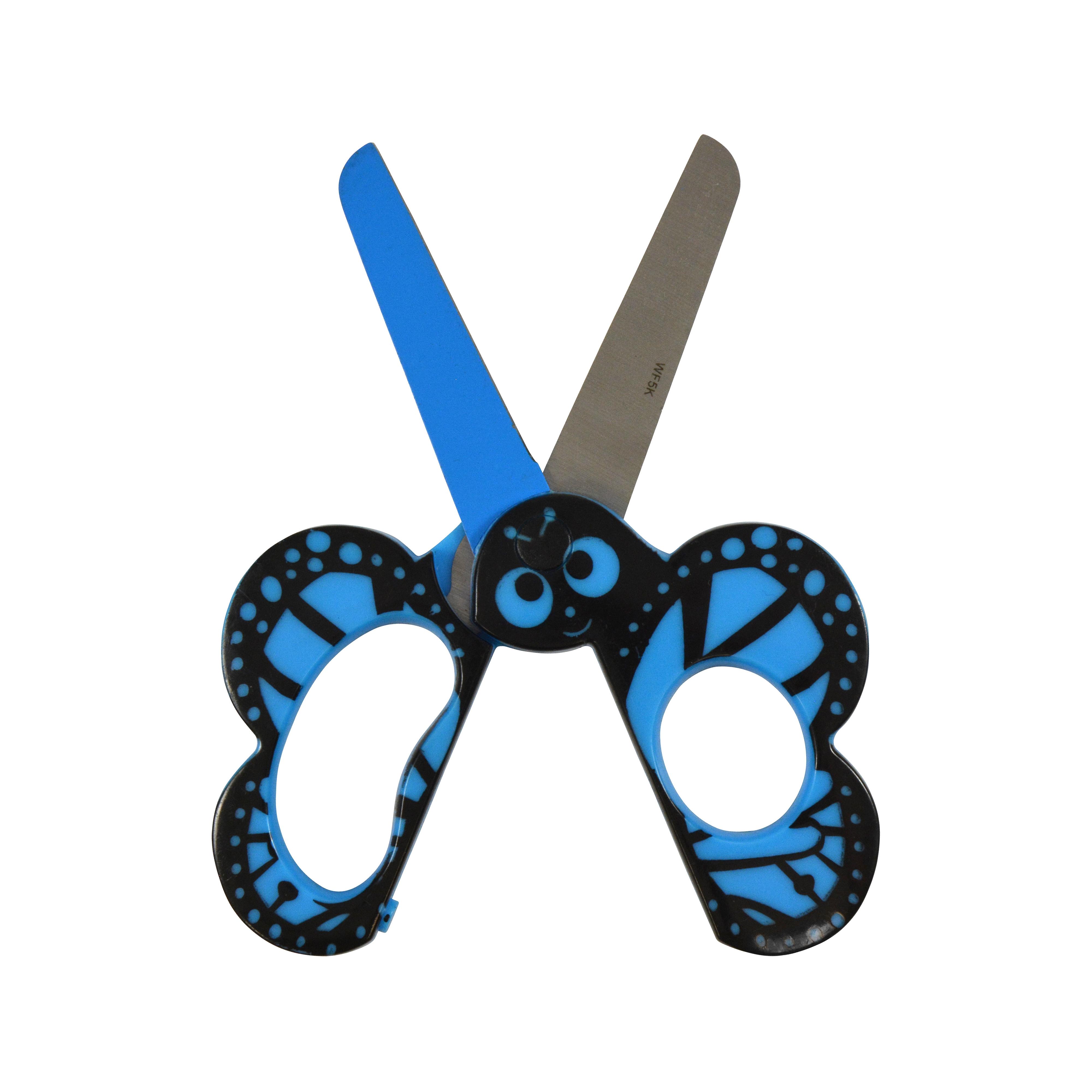 """Westcott Kids 5"""" Critters Scissors, Butterfly (16209)"""
