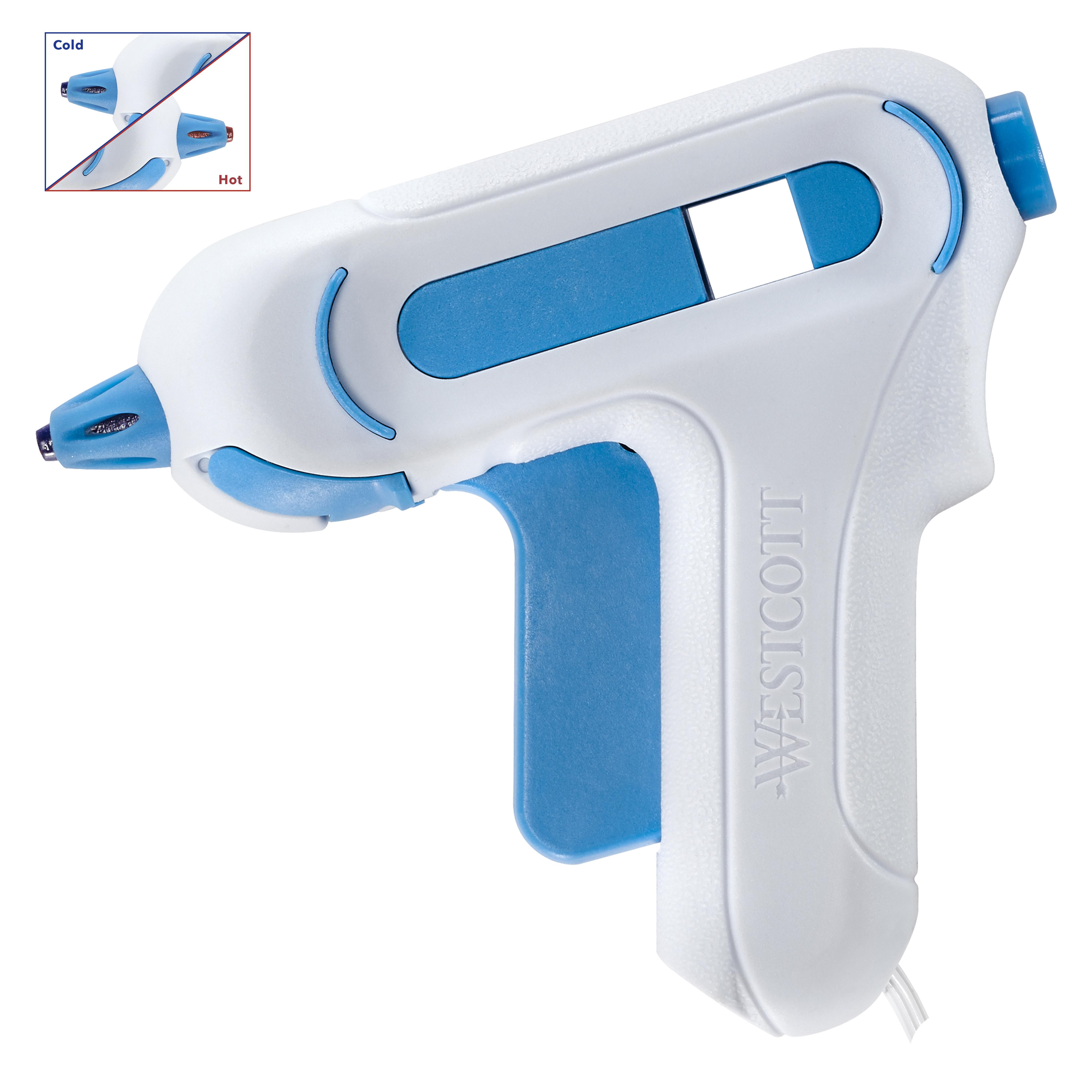 Westcott Premium Safety Mini Hot Glue Gun, High Temp (16758)