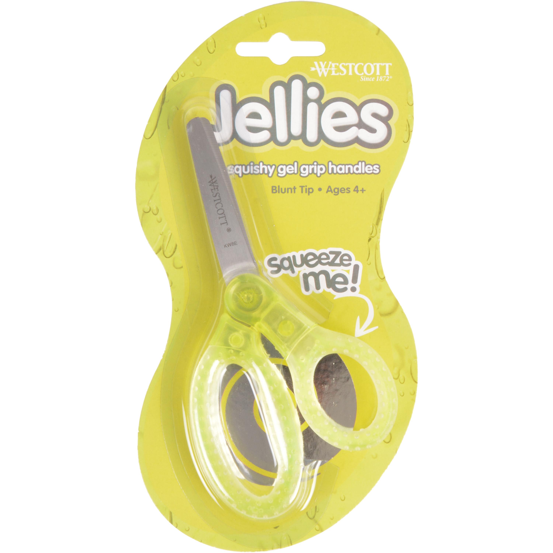 "Westcott Jellies™ 5"" Kids Scissors Assorted, Blunt (67364)"