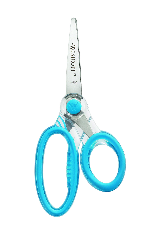 """Westcott 5"""" Kids X-Ray Scissors, Pointed (14597-202)"""