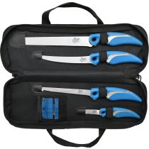 Cuda 6 Piece Knife & Sharpener Set