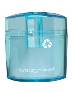 Westcott KleenEarth One Hole Manual Pencil Sharpener (15236)