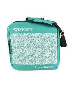 Westcott ProjectMate Traveling WorkStation,Teal (17281)