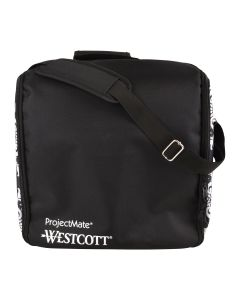 Westcott ProjectMate Traveling WorkStation, Black with Side Pattern (17282)