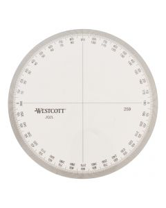 Westcott Protractor Measuring Tool (259)