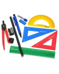 Westcott Ten Piece Math Tool Kit (14552)