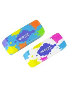 Westcott Latex Free Splat! Erasers, Assorted (14787)
