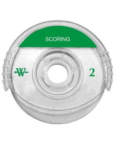 Westcott Titanium Bonded Rotary Trimmer Replacement Blade, Scoring, 45 mm (14038)