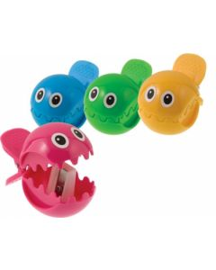 Westcott Fish Pencil Sharpener, Assorted Colors (15741)