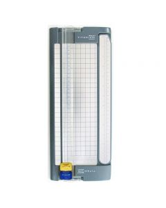 "Westcott 12"" Titanium Bonded Cut and Score Blade Personal Paper Trimmer (13779)"