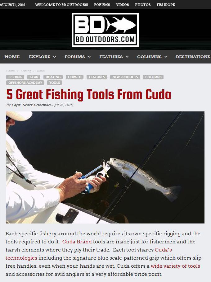 Fishing Tools Cuda