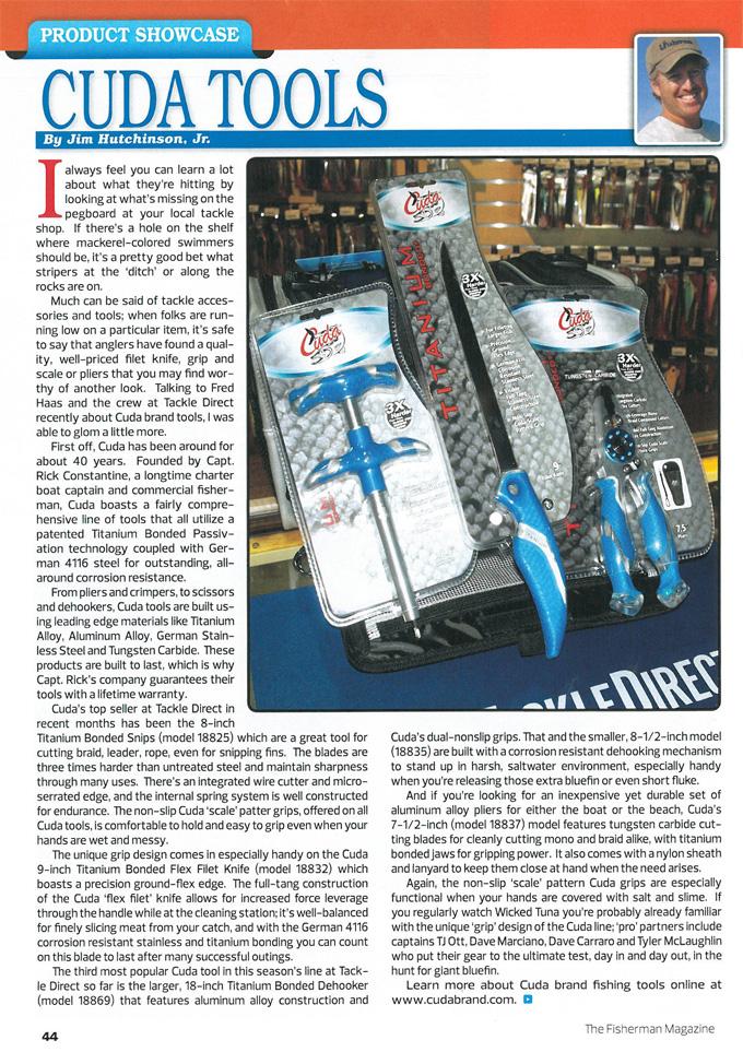 The Fisherman magazine June, 2015
