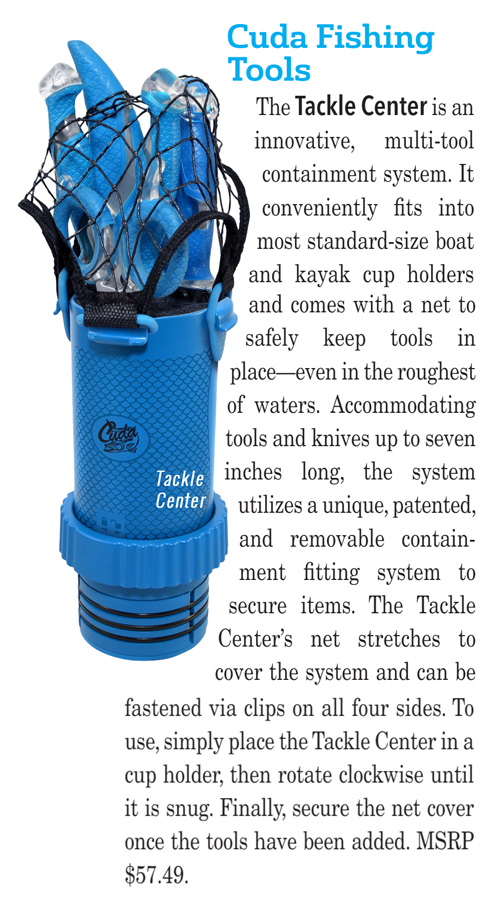 Featured in the Fishing Tackle Retailer April, 2018