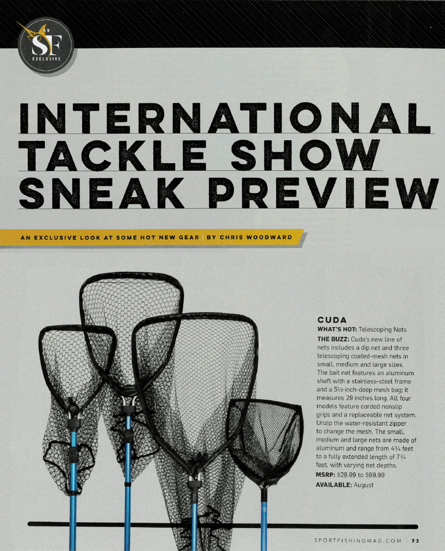 International Tackle Show Sneak Preview - Featured in Sportfishingmag.com 2017