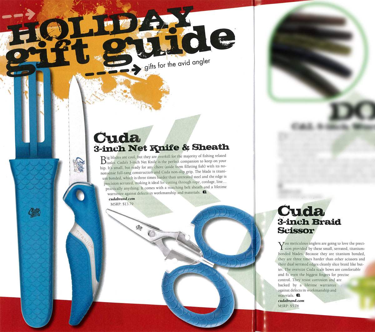Featured in GAFF's holiday gift guide - Dec, 2015