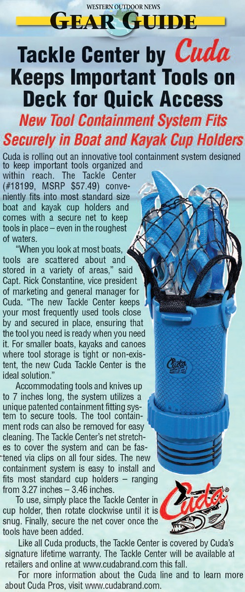 Gear Guide - featured in WESTERN OUTDOOR NEWS August 4, 2017