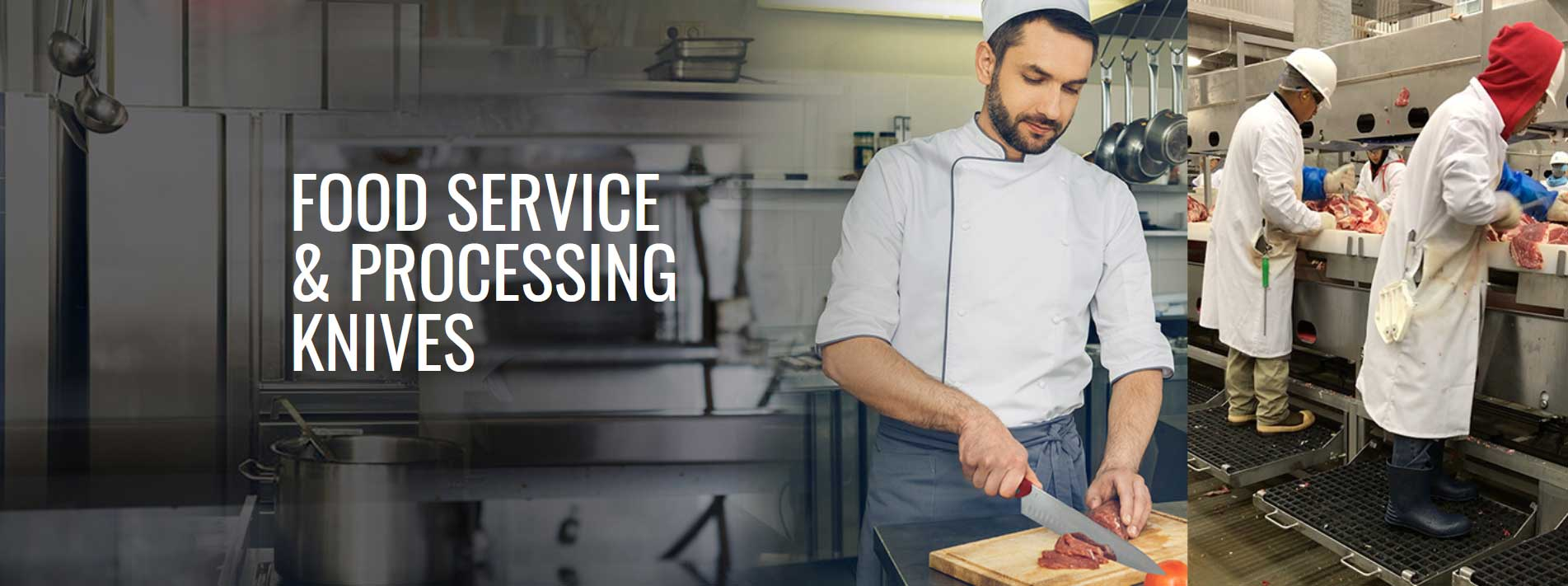 Food service & processing knives