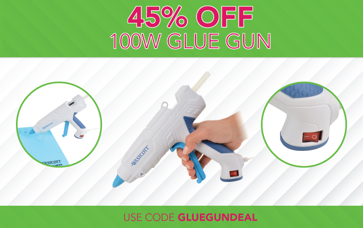 45% OFF 100W Glue Gun