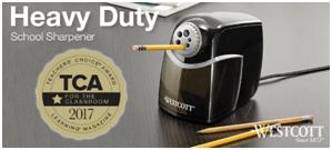 Heavy Duty Pencil Sharpener